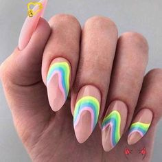 Девочки, какой нравиться больше ?❤️ 1-5 ? Сохрани чтобы не потерять 💅🏻❤️ Ставь лайки, чтоб�%8<br> Cute Acrylic Nails, Cute Nails, Pretty Nails, Bright Summer Acrylic Nails, Bright Nail Art, Colorful Nail Art, Plage Nail Art, Nagellack Trends, Beach Nails