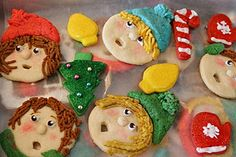 Christmas Caroler Cookies