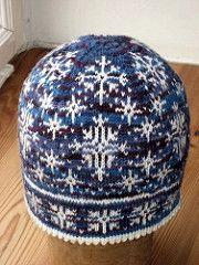 Inga Snöflinga hat pattern by Johanne Landin