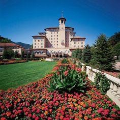 The Broadmoor in Colorado Springs...