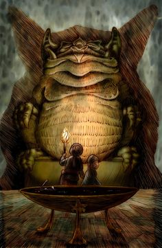 In the Temple of Tsathoggua by Loneanimator on DeviantArt Lovecraftian Horror, Eldritch Horror, Hp Lovecraft, Call Of Cthulhu, Gods And Goddesses, Fantasy Artwork, Dark Art, Mythology, Creepy