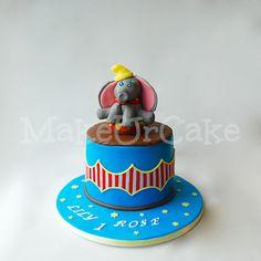 Dumbo / Circus Birthday Cake - MakeUrCake