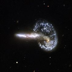 Do you think the Big Bang was more like something spat from a space (god's) mouth?