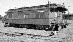 ferrocarriles del sud: HALLAZGO HISTÓRICO DE UN VAGÓN DE TREN DE 1890, EN...