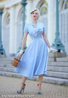 RITA por encargo vintage inspirado a medida Vestido de todos los tamaños