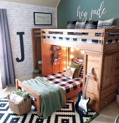 Yay, Jude's room is clean! He is actually doing a good job keeping it clean lately. Well besides candy wrappers and water… Big Letters, Letter J, Hey Jude, Happy Tuesday, Good Job, Keep It Cleaner, Bed, Candy Wrappers, Boy Rooms