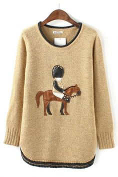 London Calling British Pullover Sweater #equine #british #horse #sweater #fashion