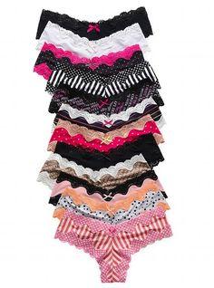 Cheeky Panties from Victoria's Secret... mine.. all mine. buahaha.