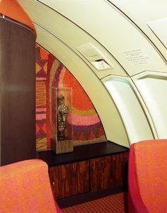 1972 Continental Airline 747 Interior Intergraft/A C Martin Assoc.