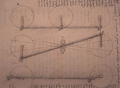 Leonardo da Vinci - Four-Bar Linkage, study