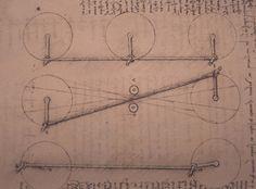 Leonardo da Vinci - Four-Bar Linkage, study