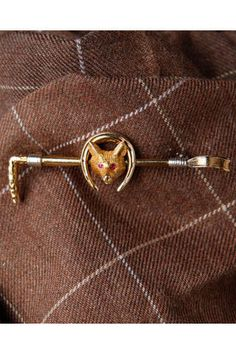 Vintage stockpin. Someone please buy me this! Perfect for the hunter derbies!
