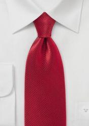 XXL-Krawatte unifarben mittelrot Streifen günstig kaufen . . . . . der Blog für den Gentleman - www.thegentlemanclub.de/blog