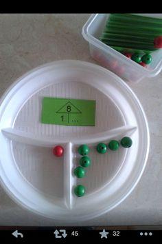 Maths, numbers decompose, count, number decomposition on . - Bildungsniveau Maths numbers decompose count number decomposition on # on Math Classroom, Kindergarten Math, Teaching Math, Montessori Math, Homeschool Math, Math Gs, Early Years Maths, Math Addition, Simple Addition