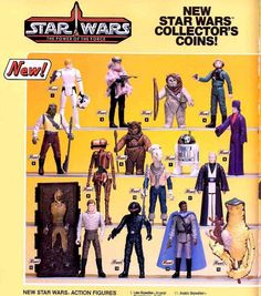 A Galaxy of Cool Vintage Star Wars Ads Star Wars Figurines, Star Wars Toys, Star Wars Art, Sith, Figuras Star Wars, Kenner Toys, Old School Toys, Star Wars Merchandise, Star Wars Action Figures