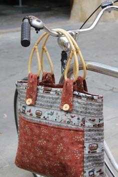"""TELA MARINERA"", patchwork ...: Bolsos"