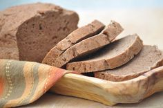 Dark Teff Sandwich Bread (uses ground flax seeds, teff flour,  arrowroot powder, tapioca flour)