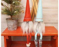 Feutre gnome Noël gnome scandinave Gnome par thelittlegreenbean