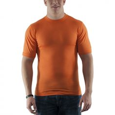 Woolx - Lightweight merino wool T-shirt - soft, breathable and wicks moisture - most comfortable T-shirt you'll ever wear! | http://www.woolx.com/