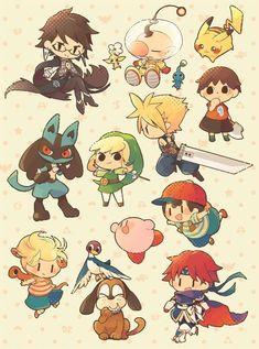 Super Smash Bros Characters, Nintendo Super Smash Bros, Nintendo Characters, Video Game Characters, Cloud Super Smash Bros, Nintendo Games, Otaku, Metroid, Super Smash Ultimate