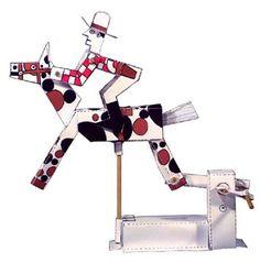 Brinquedos Autômatos - Automata toys - Bastelbögen Mechanischen - Juguetes autómatas - Karakuri: Mais brinquedos autômatos - Adquira os seus!