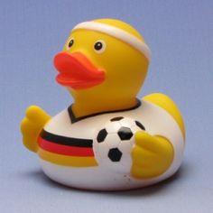 Fussball Quietscheente Deutschland-Trikot auf Duckshop.de kaufen