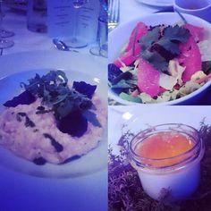 Starter (top right) main (left) dessert (bottom right). #dinner #EISC2017 #EUSW2017 #dessert #starter #Estonia #visitEstonia #visitTallinn #Estonia #Tallinn