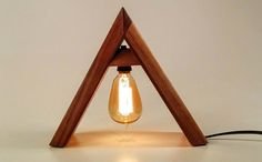 How Small Businesses Use Social Media Sites: A-Lamp Design Lamp Design, Lighting Design, Luminaria Diy, Wooden Table Lamps, Modern Lamps, Got Wood, Lamp Light, Small Businesses, Diy Furniture