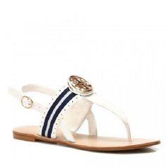 New Women& Flat Beach Casual Summer Sandals Flip Flops Buckle Black White Beach Casual, Casual Summer, Flip Flop Sandals, Flip Flops, Summer Sandals, Flats, Black And White, Ebay, Shopping