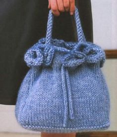 Knitted Poncho, Knitted Bags, Handmade Handbags, Handmade Bags, Hand Knitting, Knitting Patterns, Macrame Bag, Tunic Pattern, Cotton Bag