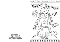 Lottie Dolls are inspired by and based on kids, relatable, empowering toys for girls and boys, celebrating childhood and encouraging kids to be themselves. I Party, Party Games, Coloring Birthday Cards, Toys For Girls, Colouring, Girl Birthday, Birthdays, Dolls, Kids