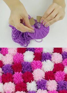 Maken: een matje van wol