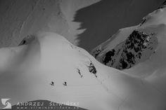 Alpine touring high in the Tatra Mountains, Poland. #mountainphotography