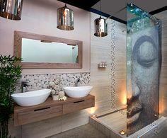 дизайн ванной комнаты- фэн-шуй