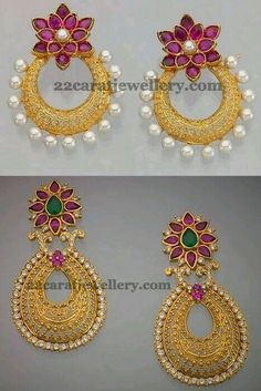Image result for chaand bali designs in gold jewellery Pinterest