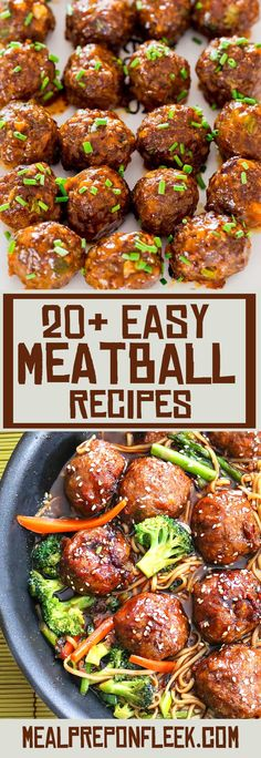 The Ultimate Guide To Meatballs Recipes - Meal Prep on Fleek™
