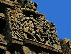 From the gopuram of #Kedareshwara temple, #Balligavi, #Karnataka.