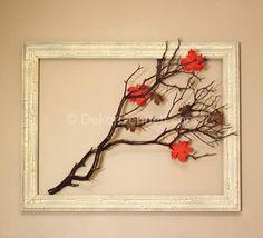 En Yeni kuru yapraklar ile dekorasyon Fotoğrafları  - DEKORCENNETİ.COM