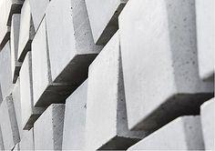 Urbi et Orbi concrete tiles ''planted cubes''