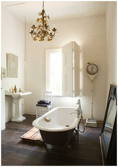 Light Filled - vintage bath and accessories