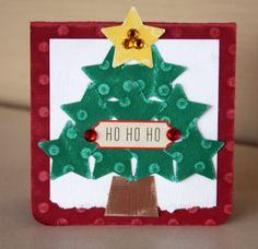 Tillie Dot Christmas Card from Kim Moreno using Core'dinations cardstock #coredinations