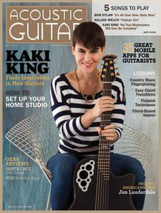 Acoustic Guitar Magazine - May 2013 Cover feat. Kaki King