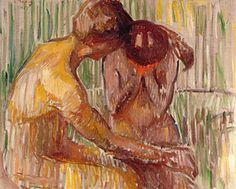 Edvard Munch : Comfort, 1907