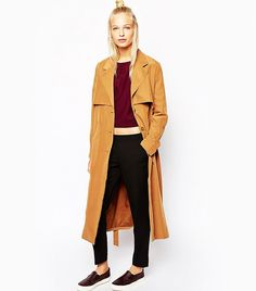 The perfect coat to wear for the fall months. // Monki Duster Coat