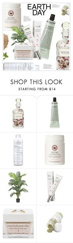 """""""Earth Day"""" by stranjakivana ❤ liked on Polyvore featuring beauty, Mullein & Sparrow, Grown Alchemist, VMV Hypoallergenics, Nearly Natural, The Organic Pharmacy, Hadali, Forever 21, May Lindstrom and earthday"""