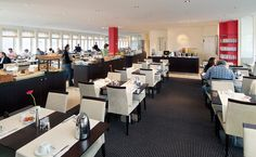 Lækker morgenmadsrestaurant på hotel i København - Se billeder