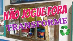 Não Jogue Fora- Transforme - Jornada Do Artesanato 11 Diy Videos, Neon Signs, Make It Yourself, Blog, Plays, Diy, Craft, Blogging