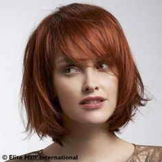 Coiffure perruque mi long rousse brune ou blonde http://www.complements-capillaires-nord.com/