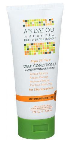Andalou Naturals Conditioner - Ultimate Moisture Deep Argan Oil Plus 6 Oz