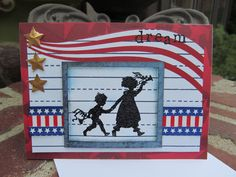 4th of July card  by Becky Joyce
